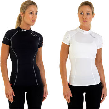 2XU Ladies Short Sleeve Compression Base Layer SS11