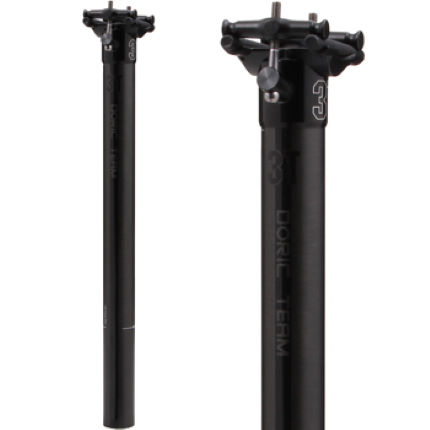 3T Doric Team Inline Seat Post (Black Series)