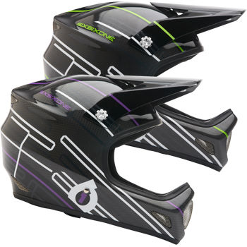 SixSixOne Evolution Carbon Full Face Helmet - 2011