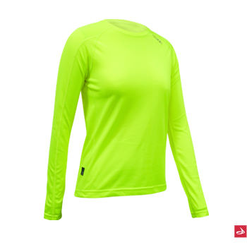 dhb Ladies Corefit Long Sleeve Hi Viz Base Layer AW11