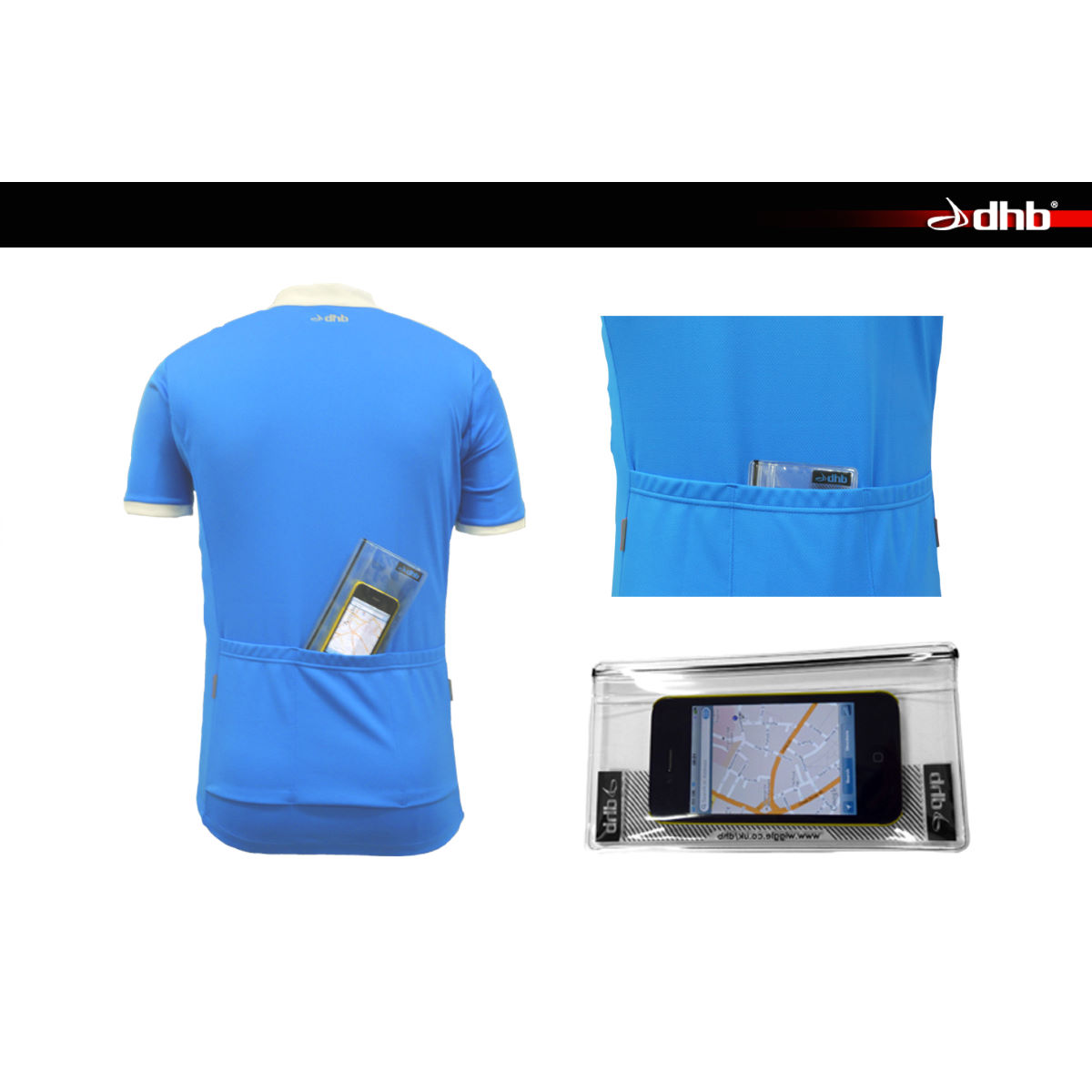 dhb Jersey Bin Waterproof Pocket