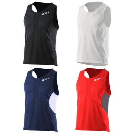 2XU Mens Comp Run Singlet SS13