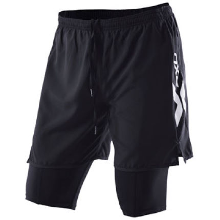 2XU Run Short with Compression Leg