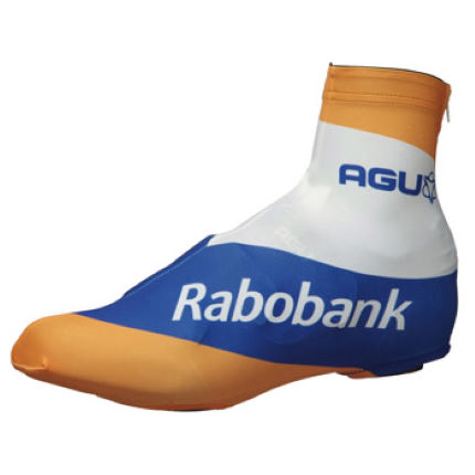 Agu Rabobank Team Shoe Covers - 2012
