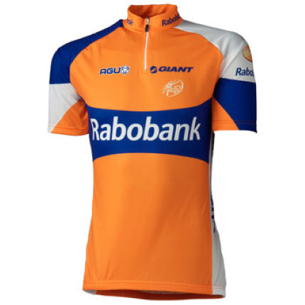 Agu Rabobank Team Short Sleeve Jersey - 2012