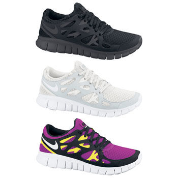 Nike Ladies Free Run Plus 2 Shoes SP12