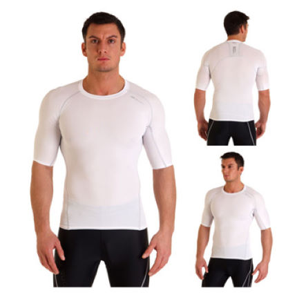 Sugoi Piston 140 Compression Base Layer - White