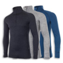 dhb Merino Longsleeve Zipneck Baselayer M_190