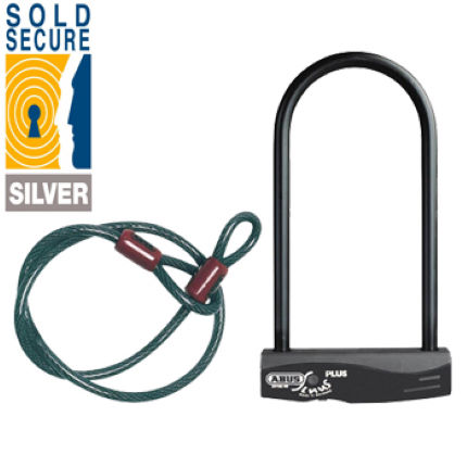 Abus Sinus Plus D-Lock and Cable Set