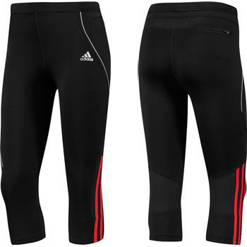 Adidas Ladies Response DS 3/4 Running Tight SS12