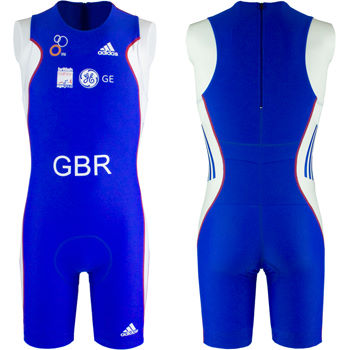 adidas GB Age Group Distance Tri Suit