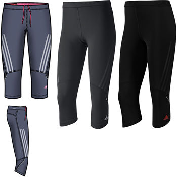 Adidas Ladies Supernova 3/4 Running Tight SS12