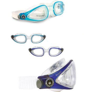 Aqua Sphere Eagle Goggles With Clear Lens