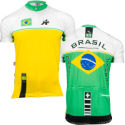 Assos - Brazilian National 半袖ジャージ - 2010