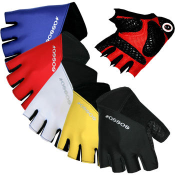 Assos Summer Short Finger Cycling Gloves