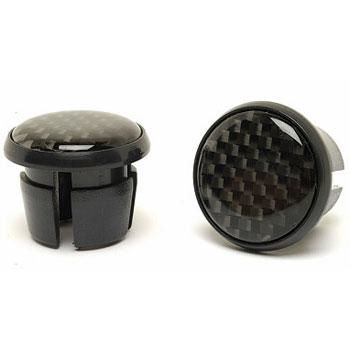 M:Part Carbon Fibre MTB Handlebar End Plugs