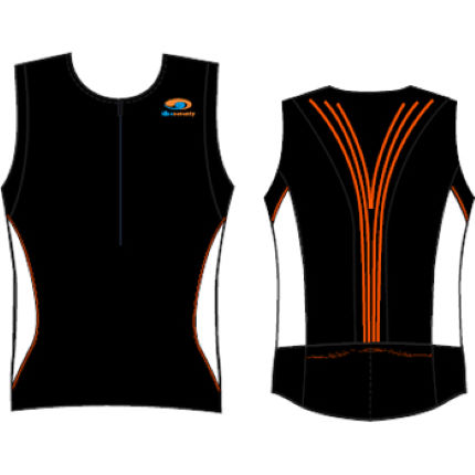 blueseventy Tri Performance Zipped Singlet SS11