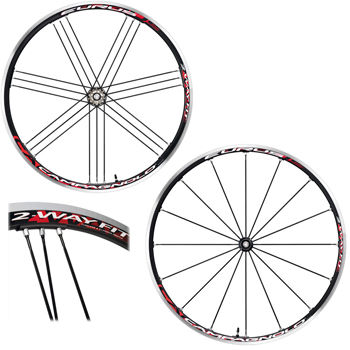 Campagnolo Eurus 2 Way Fit Tubeless Wheelset