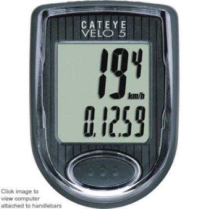 Cateye Velo 5 Cycle Computer