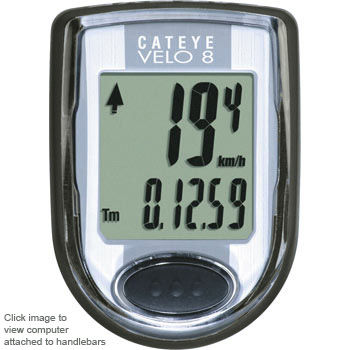 Cateye Velo 8 Cycle Computer