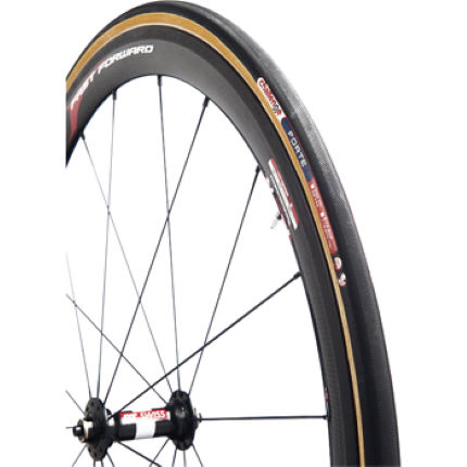 Challenge Forte Tubular Tyre (Black/Brown)