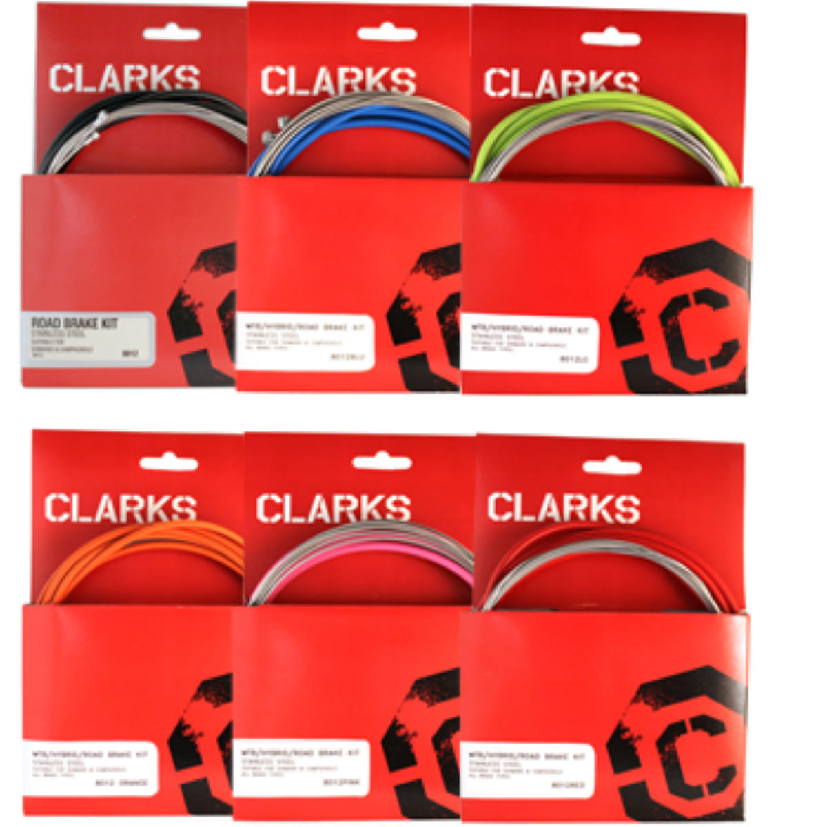 Clarks Universal Front and Rear Brake Cable Kit