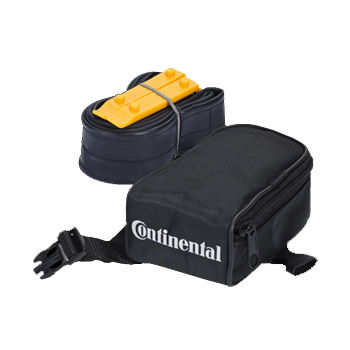 Continental Saddle Bag with Inner Tube and Levers