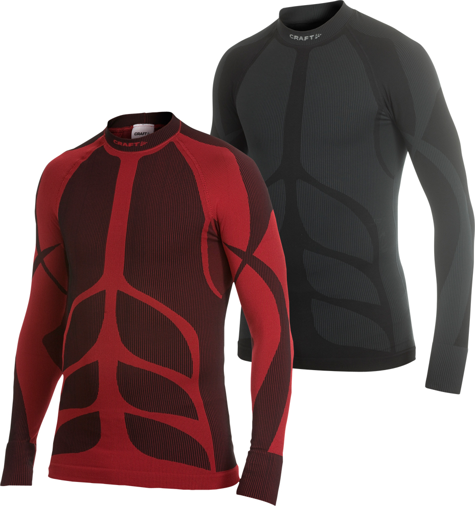 wiggle craft warm crew neck long sleeve base layer