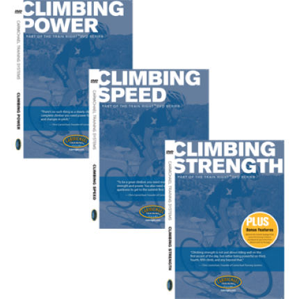 CTS Train Right DVDs - Climbing Series