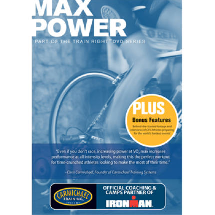 CTS Train Right DVD Series - Max Power