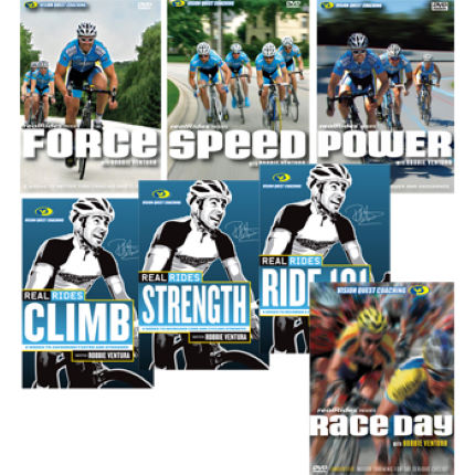 CycleOps Realrides Training DVDs