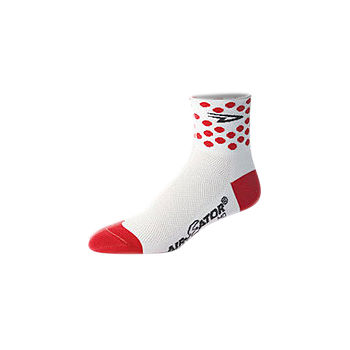 DeFeet Aireator Polka Dot Cycling Socks