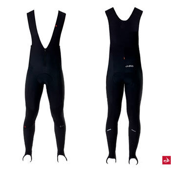 dhb Pace SuperRoubaix Windproof Padded Bib Tight