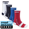 dhb 2 pack - Light Weight Cycling Sock 14cm