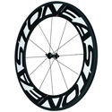 Easton EC90 TT Carbon (90mm) Tubular Front Wheel