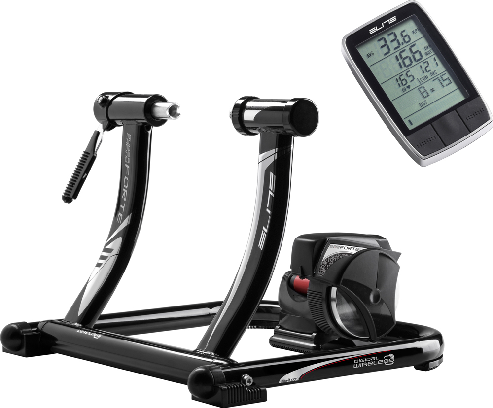 home trainer et rouleaux elite supercrono forte wireless digital trainer wiggle france. Black Bedroom Furniture Sets. Home Design Ideas