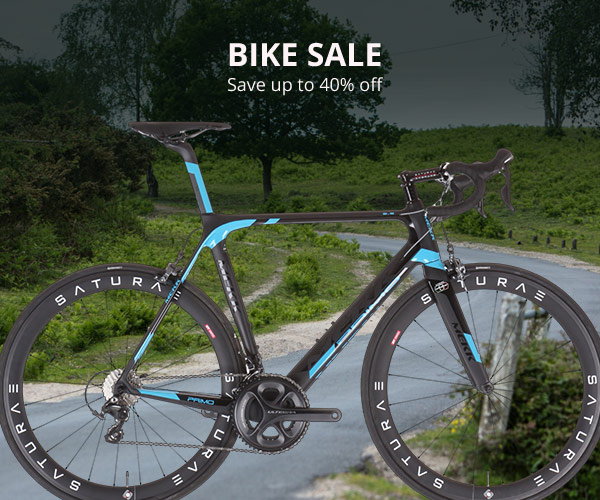Save up to 40% off bikes sale + free delivery on orders overs $99 @ Wiggle