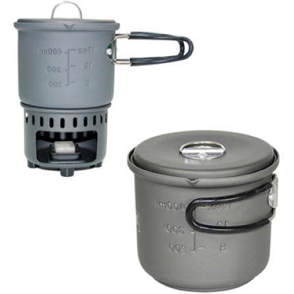 Esbit Cookset 585ml (Solid Fuel)