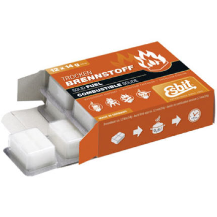 Esbit Solid Fuel Tablets - 12 x 14g Pack