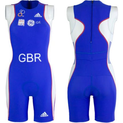 adidas GB Age Group Ladies Distance Tri Suit