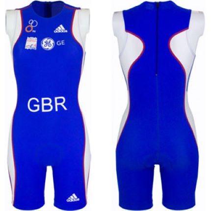 adidas GB Age Group Ladies Tri Suit
