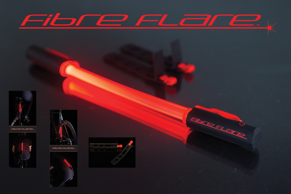 Wiggle fibre flare ultimate safety rear tail light Ultimate lighting