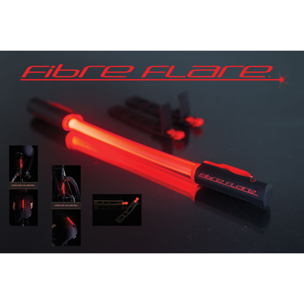 Fibre Flare Ultimate Safety Rear Tail Light (Single)