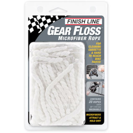 Finish Line Gear Floss MicroFibre Rope