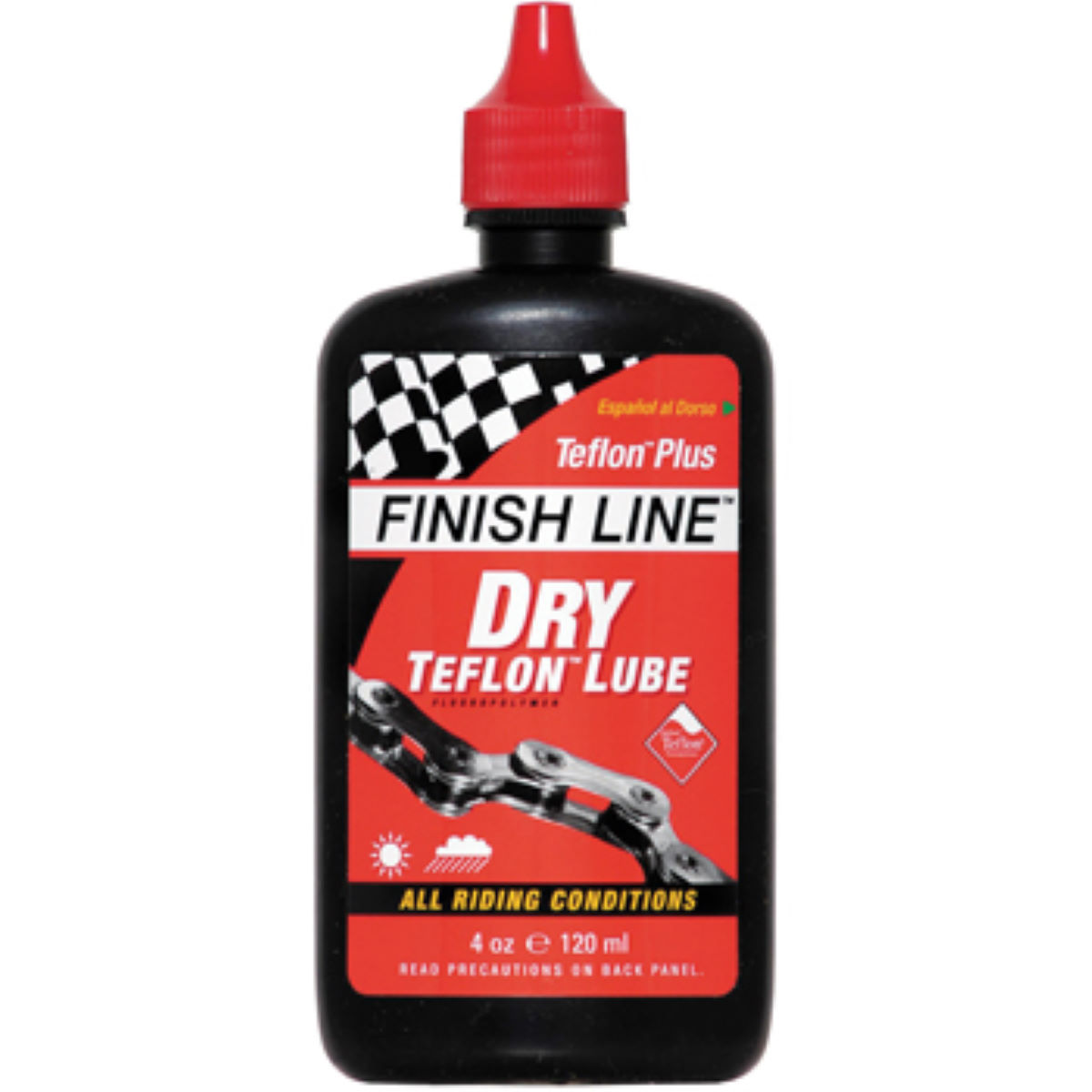 Finish Line Dry Teflon Lubricant 120ml Bottle