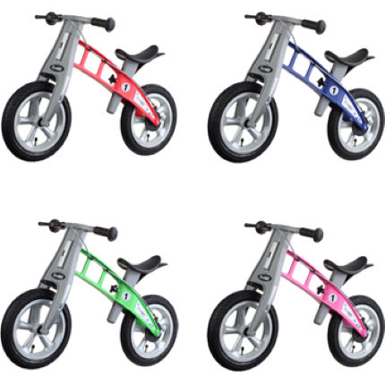 FirstBike Street with Brake Pedal-Free Kids Bike