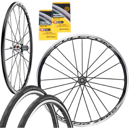 Fulcrum Racing Zero Wheelset with Conti Tyres and Tubes