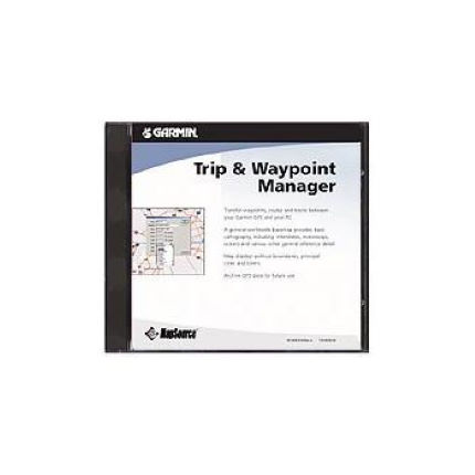 Garmin - Trip and Waypoint Manager