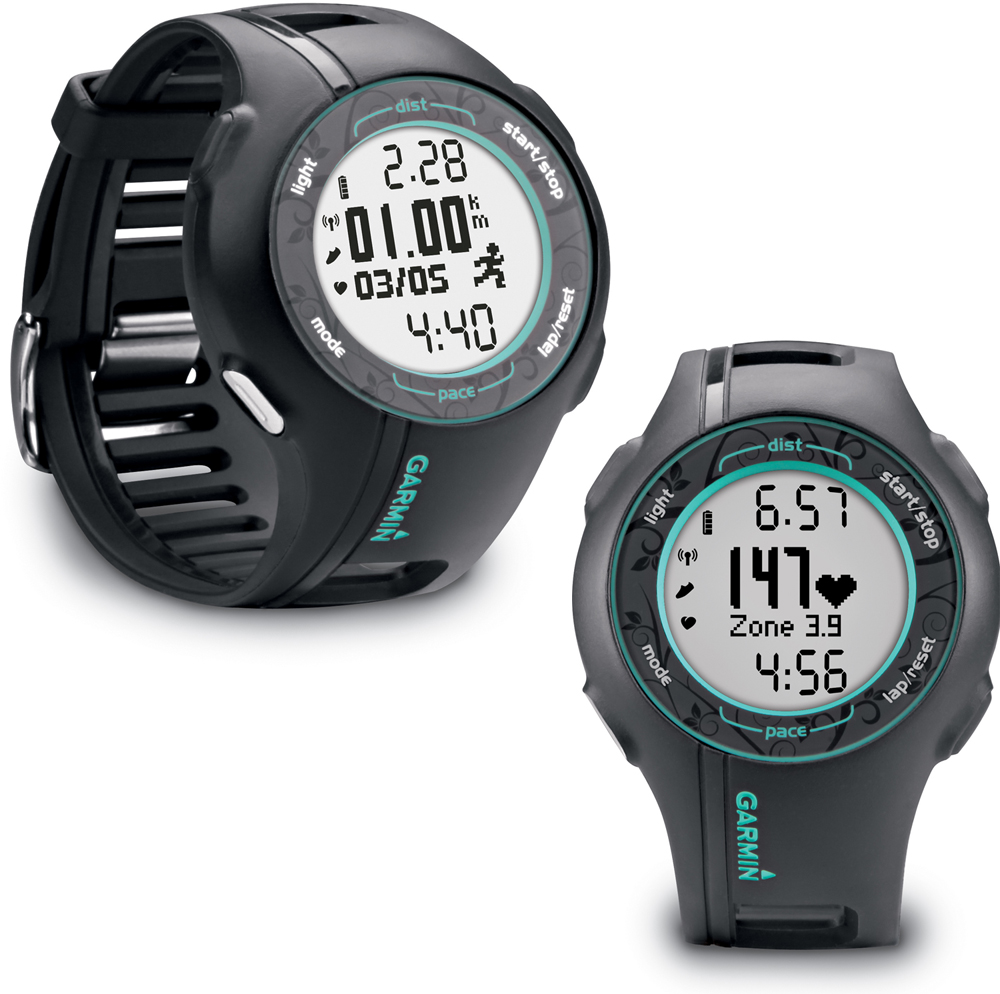wiggle garmin forerunner 210 teal gps sports watch gps running computers. Black Bedroom Furniture Sets. Home Design Ideas