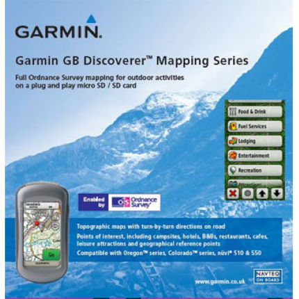 Garmin - GB Discoverer National Parks 1/50k コレクション